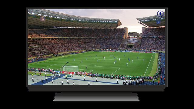 fotbal v televizi